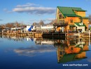 House Reflections from Lift Bridge